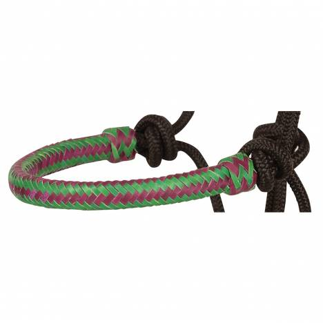 Classic Equine Rope Halter With Rawhide Nose