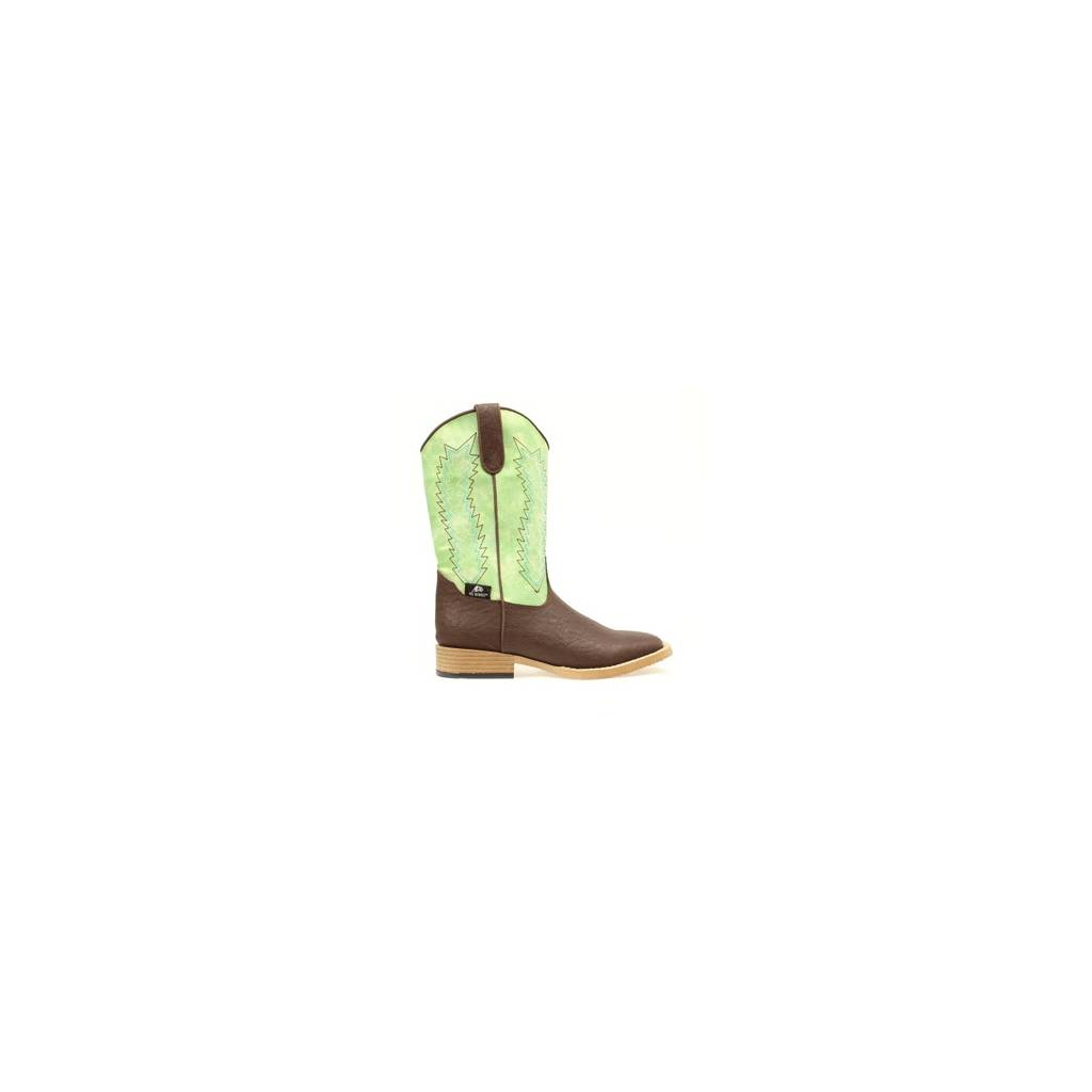DBL Barrel Kids Wyatt Western Boot