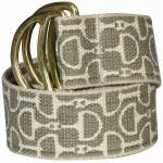 Equine Couture Ladies Designer Bit Cotton Belt