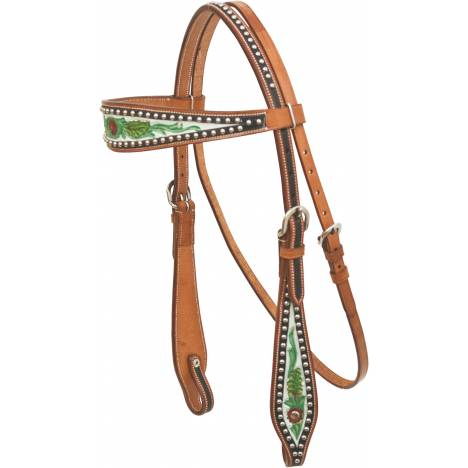 Cowboy Pro Painted Wide-Brow Headstall