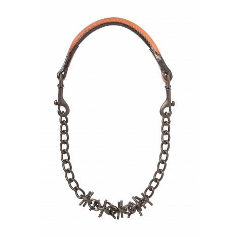 Weaver Oil Rubbed Pronged Chain Goat Collar