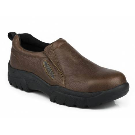 Roper Mens Performance Steel Toe Slip On Casual Shoe