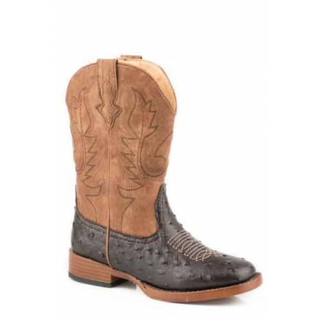 Roper Boys Kids Cowboy Cool Square Toe Western Boot