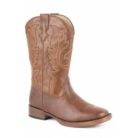 Roper Boys Kids Texson Square Toe Western Boot