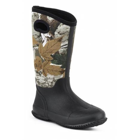 Roper Ladies Barnyard Camo Neoprene Tall Barn Boots
