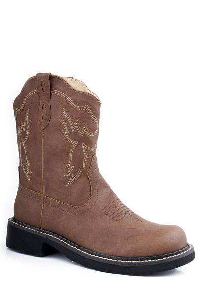 Western | Round | Rope | Lady | Boot | Toe