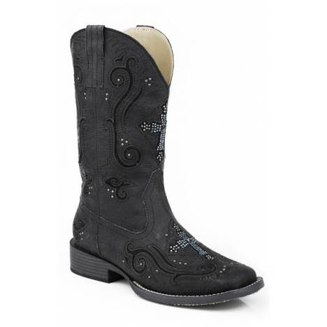 Roper Ladies Faith Bling Square Toe Western Boot