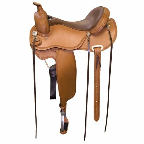 Circle P Leather Trail Saddle