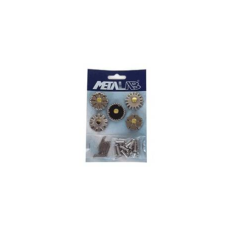 FG Reining Brushed Rowels - Five Pack