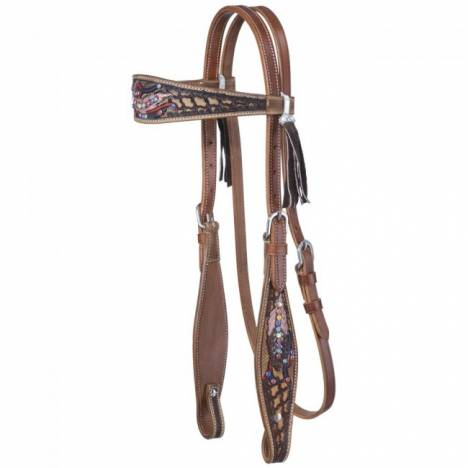 Silver Royal Naomi Collection Browband Headstall
