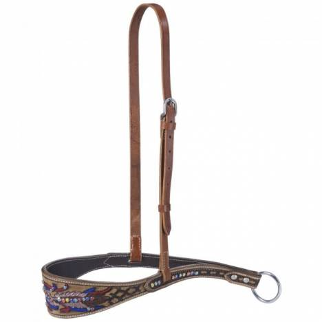 Silver Royal Naomi Collection Noseband