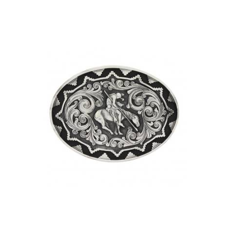 Montana Silversmiths Southwest Impressions End Of Trail Attitude Buckle