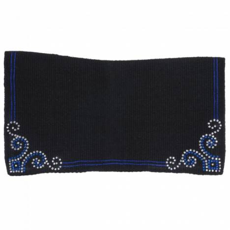 Tough 1 Crystal Arrow Contour Wool Saddle Blanket