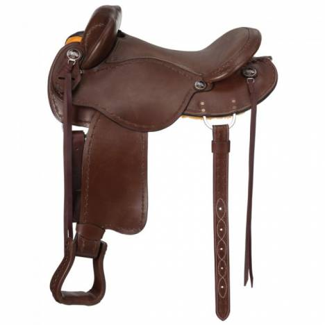 Tough 1 Brisbane Trail Saddle With Out Horn Deluxe Package