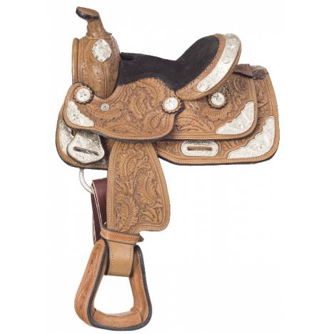 Tough 1 Seven Oaks Miniature Silver Show Saddle Package
