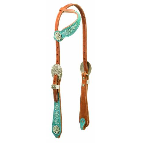 Weaver Snowflake Sliding Ear Headstall