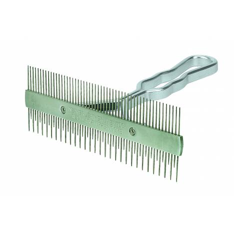 Weaver Aluminum Handle 2 Sided Comb