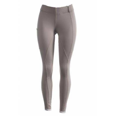 FITS Ladies Techtread Full Seat Pull On Breeches - Truffle