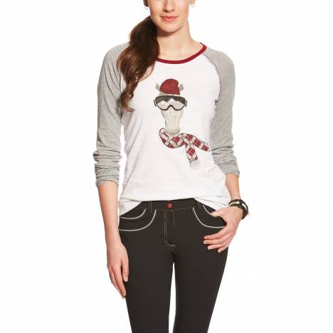 Ariat Ladies Corsa Graphic Tee - White
