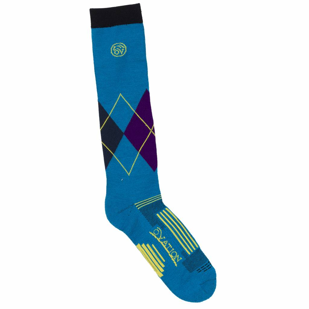Ovation Ladies Argyle DX Knee High Sock