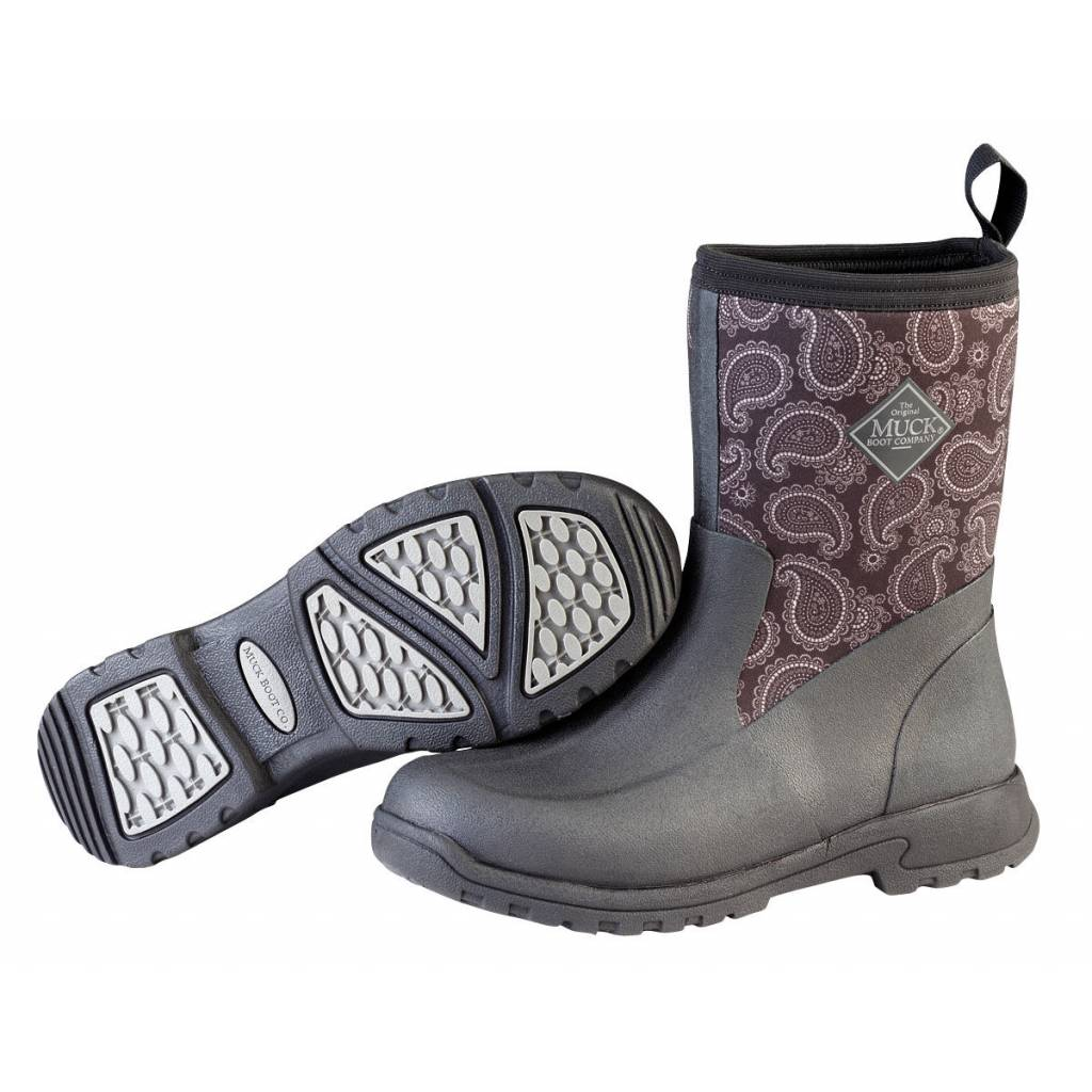 Muck Boots Ladies Breezy Mid - Black Bandana