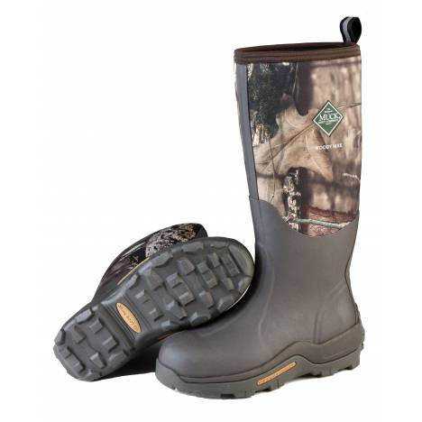 Muck Boots Mens Woody Max - Bark Mossy Oak Country