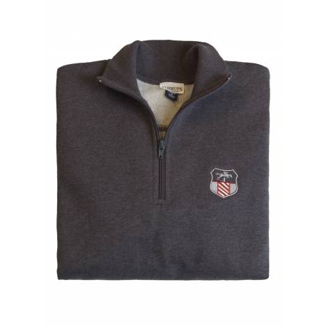 Stirrups Ladies 1/4 Zip Jumping Embroidered Fleece Pullover