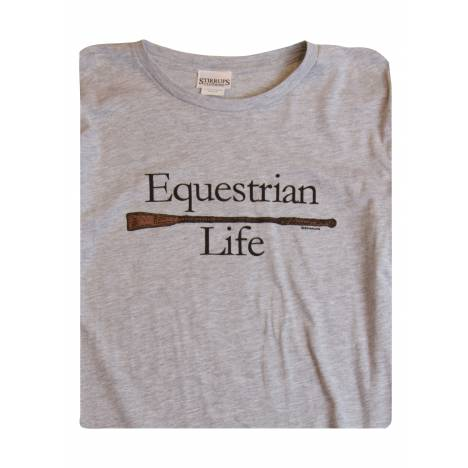 Stirrups Youth Equestrian Life Long Sleeve Jersey Tee