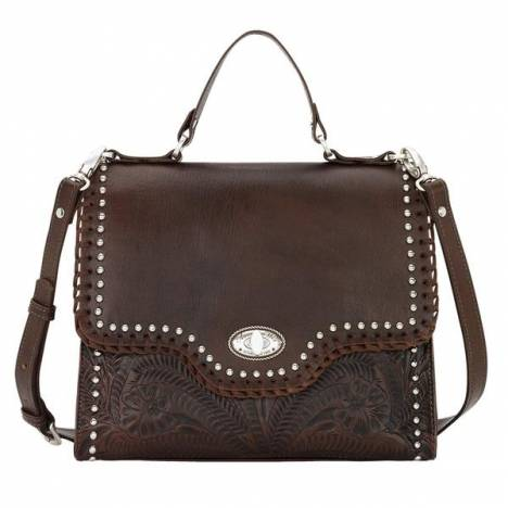 American West Hidalgo Top Handle Convertible Flap Bag
