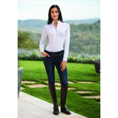 Goode Rider Ladies Long Sleeve Ideal Show Shirt