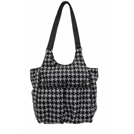 Lami-Cell Houndstooth Small Accessory Bag