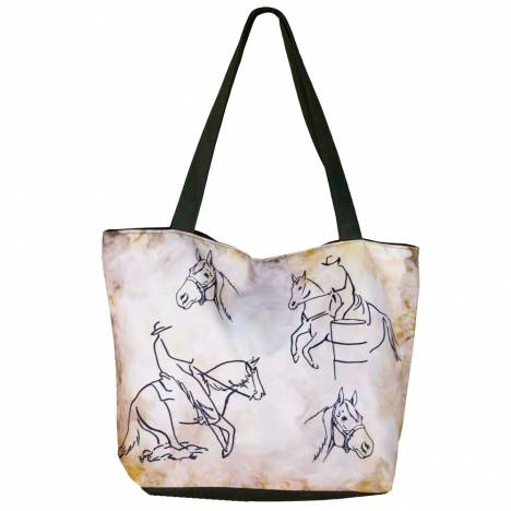 WOW Canvas Tote Bag Western Rider - FREE With $99 WOW Purchase