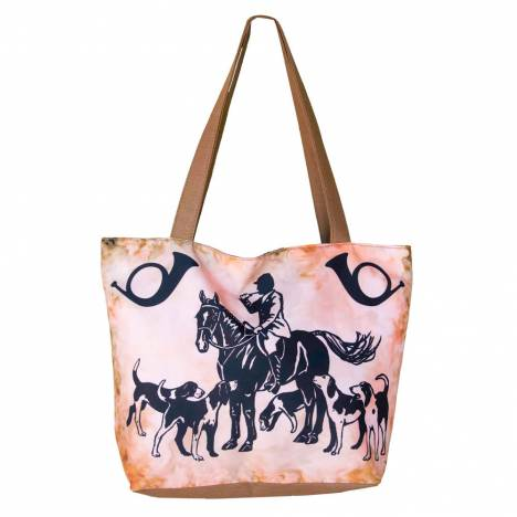 WOW Canvas Tote Bag Fox Hunting