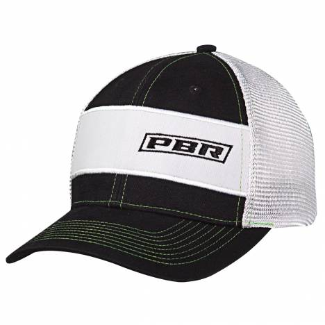 Pbr Mens Offset Text Cap