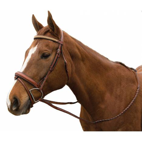 Exselle Elite Raised Fancy Stitched Bridle with Extra Brow