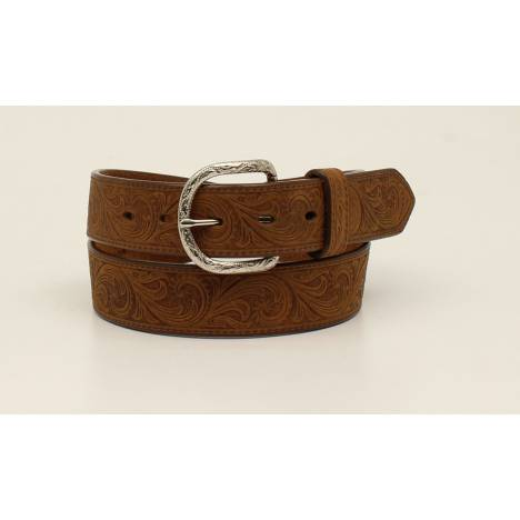 Nocona Mens Western Scroll Belt
