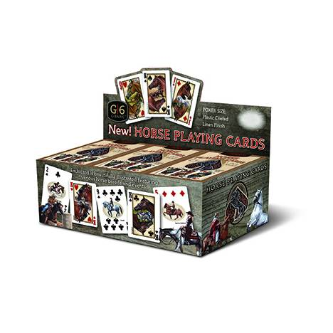 Kelley Horse Playing Cards Display