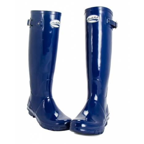 Rockfish Ladies Tall Gloss Wellington Boots