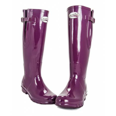 Rockfish Ladies Adjustable Gloss Wellington Boots