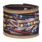 Silver Royal Naomi Collection Cuff Bracelet