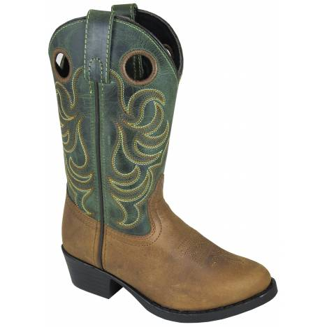 Smoky Mountain Childrens Henry Boots - Brown