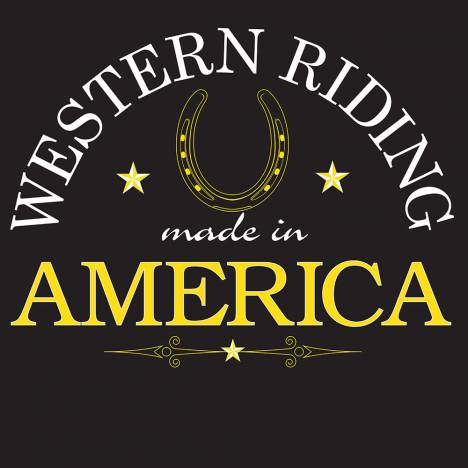 Sound Equine Adult Western Riding Made In America Tee Shirt