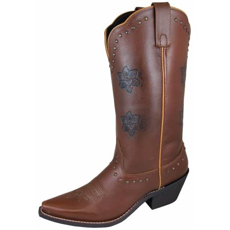 Smoky Mountain Ladies Lilac Boots - Brown