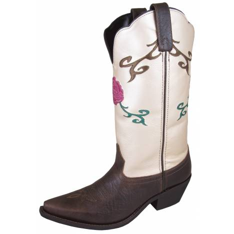 Smoky Mountain Ladies Lucky Boots - Brown Cream