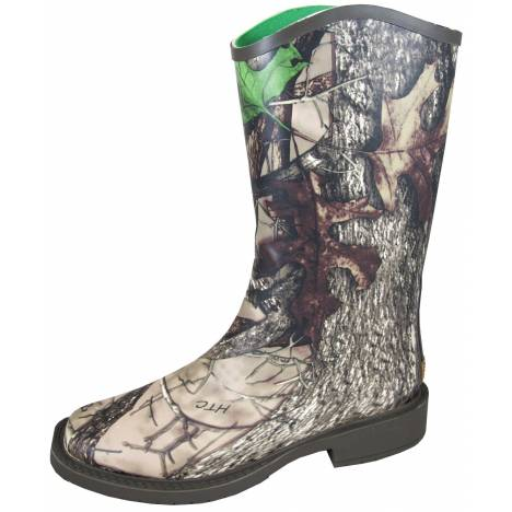 Smoky Mountain Ladies Oconee Boots - Camo Green