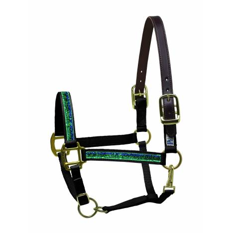 Perri's Sparkle Ribbon Nylon Safety Halter