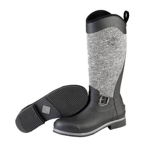 Muck Boots Ladies Reign Supreme Winter Boots - Black Gray