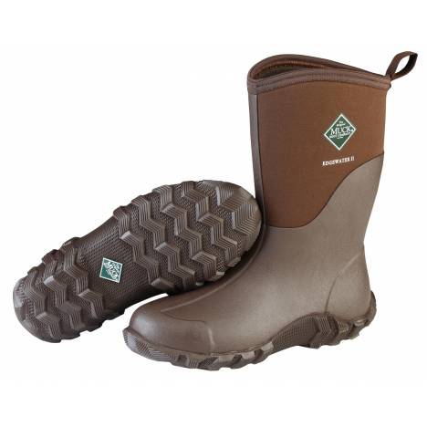Muck Boots Unisex Edgewater II Mid - Chocolate Brown