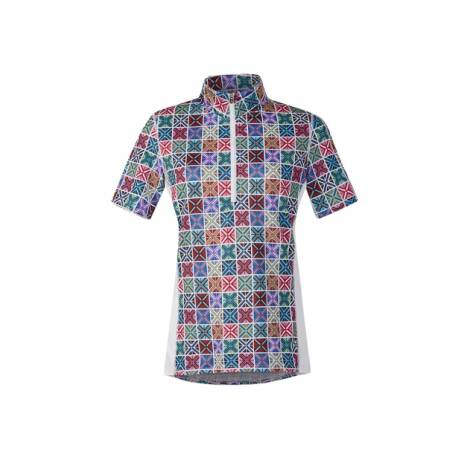 Kerrits Breeze Ice Fil Print Short Sleeve - Crossrails
