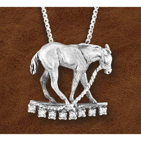Kelly Herd Silver Horse Pendant